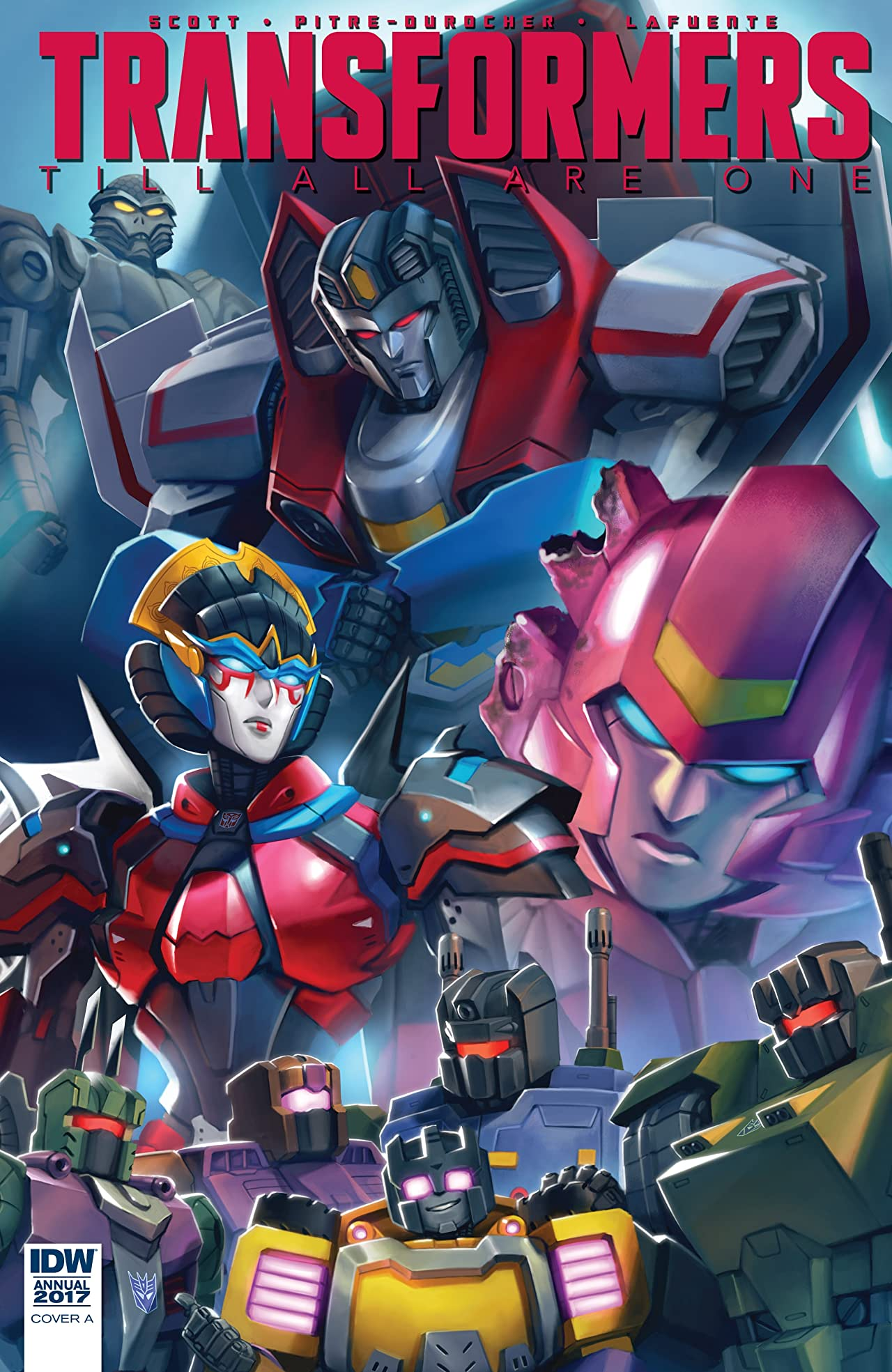 Transformers: Till All Are One Annual 2017