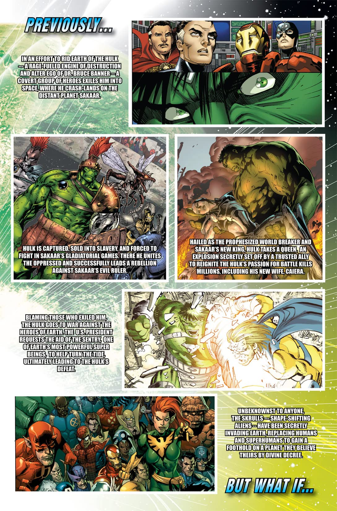 What If? World War Hulk #1