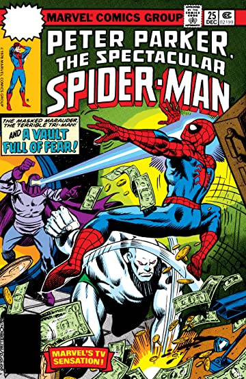 Peter Parker, The Spectacular Spider-Man (1976-1998) #25