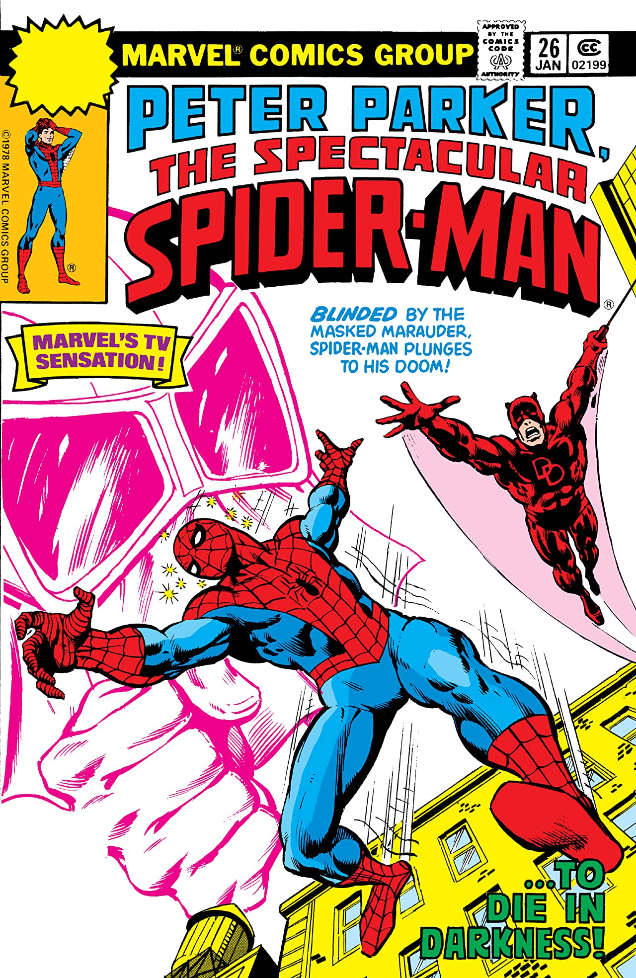 Peter Parker, The Spectacular Spider-Man (1976-1998) #26