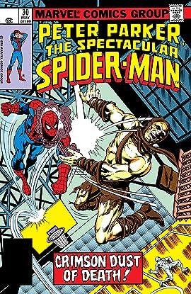 Peter Parker, The Spectacular Spider-Man (1976-1998) #30
