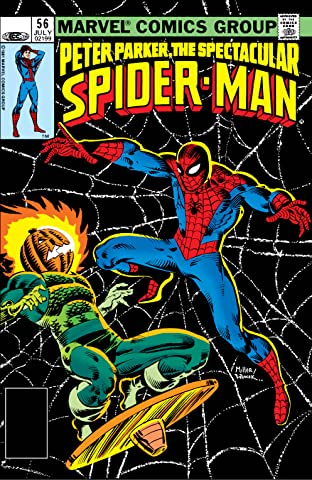 Peter Parker, The Spectacular Spider-Man (1976-1998) #56