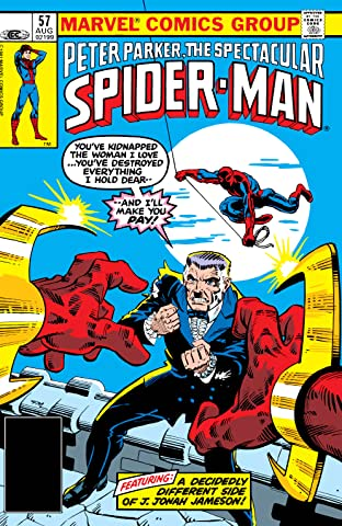 Peter Parker, The Spectacular Spider-Man (1976-1998) #57