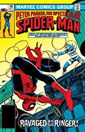 Peter Parker, The Spectacular Spider-Man (1976-1998) #58