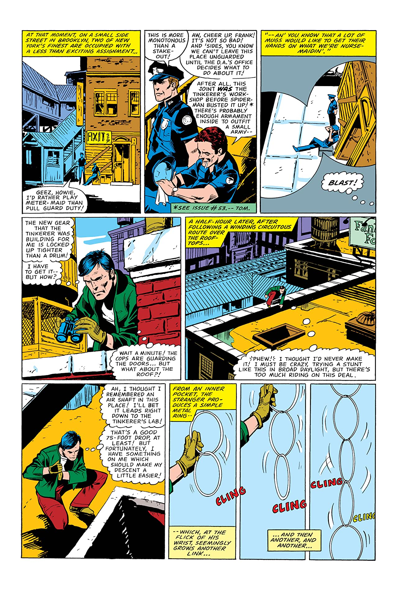 Peter Parker, The Spectacular Spider-Man (1976-1998) #58