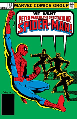 Peter Parker, The Spectacular Spider-Man (1976-1998) #59