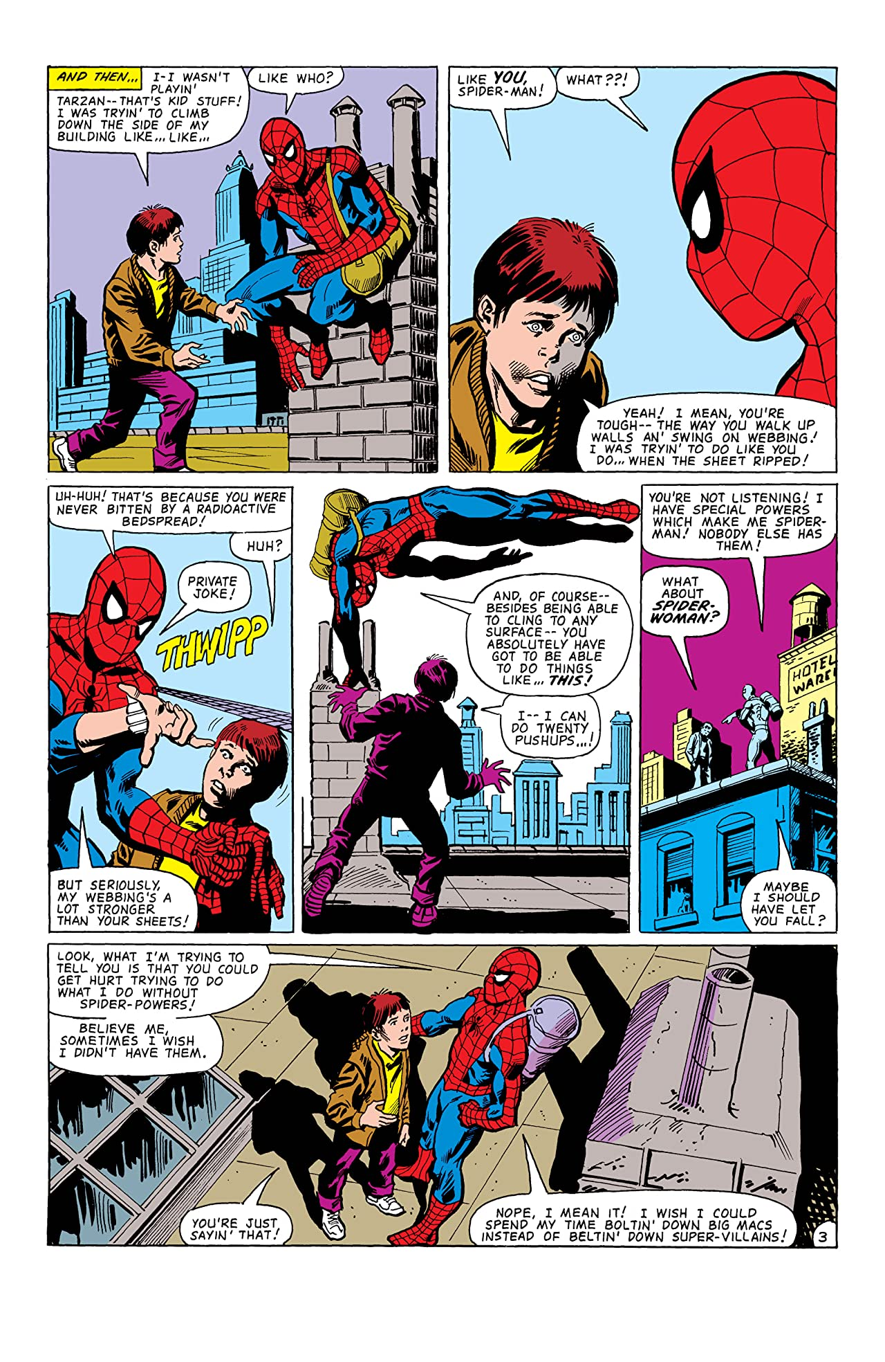 Peter Parker, The Spectacular Spider-Man (1976-1998) #61