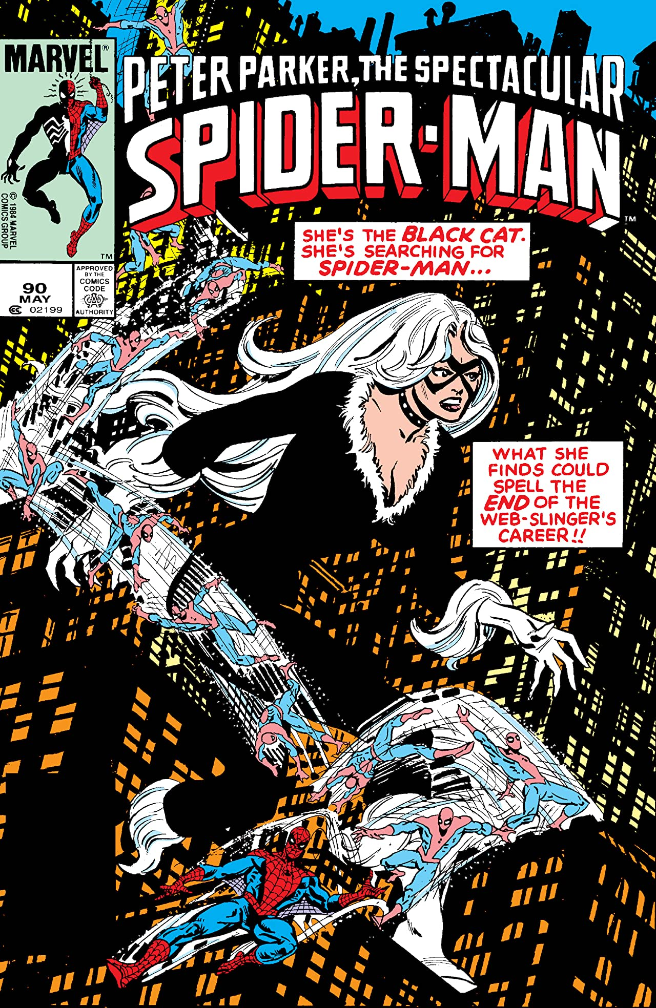 Peter Parker, The Spectacular Spider-Man (1976-1998) #90