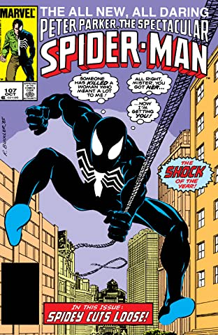 Peter Parker, The Spectacular Spider-Man (1976-1998) #107