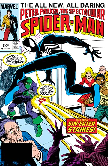 Peter Parker, The Spectacular Spider-Man (1976-1998) #108