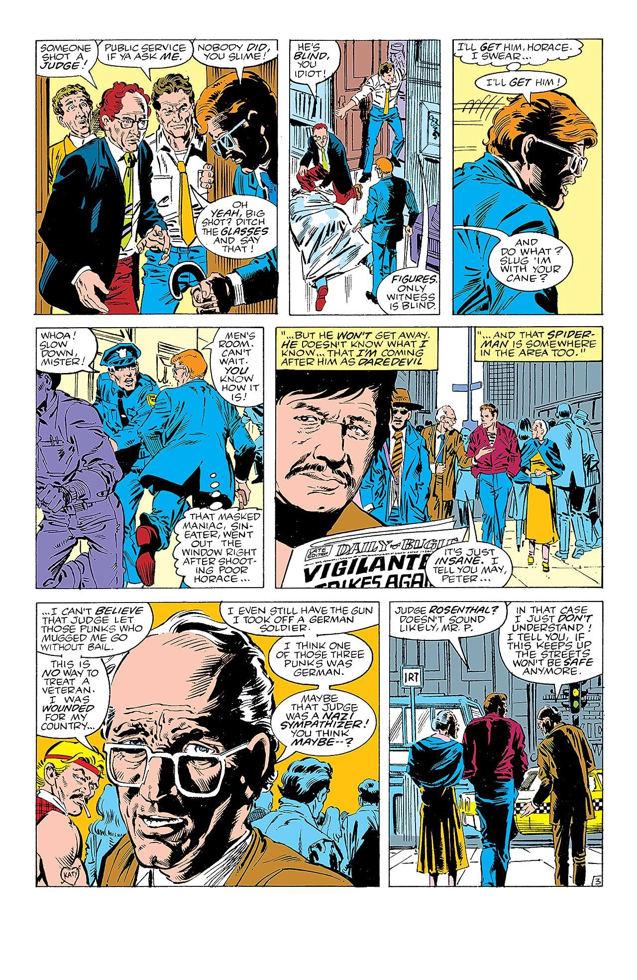 Peter Parker, The Spectacular Spider-Man (1976-1998) #108