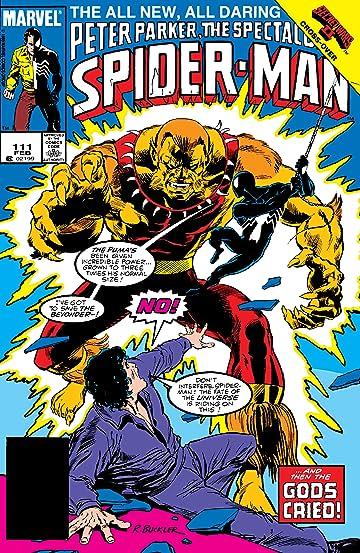 Peter Parker, The Spectacular Spider-Man (1976-1998) #111