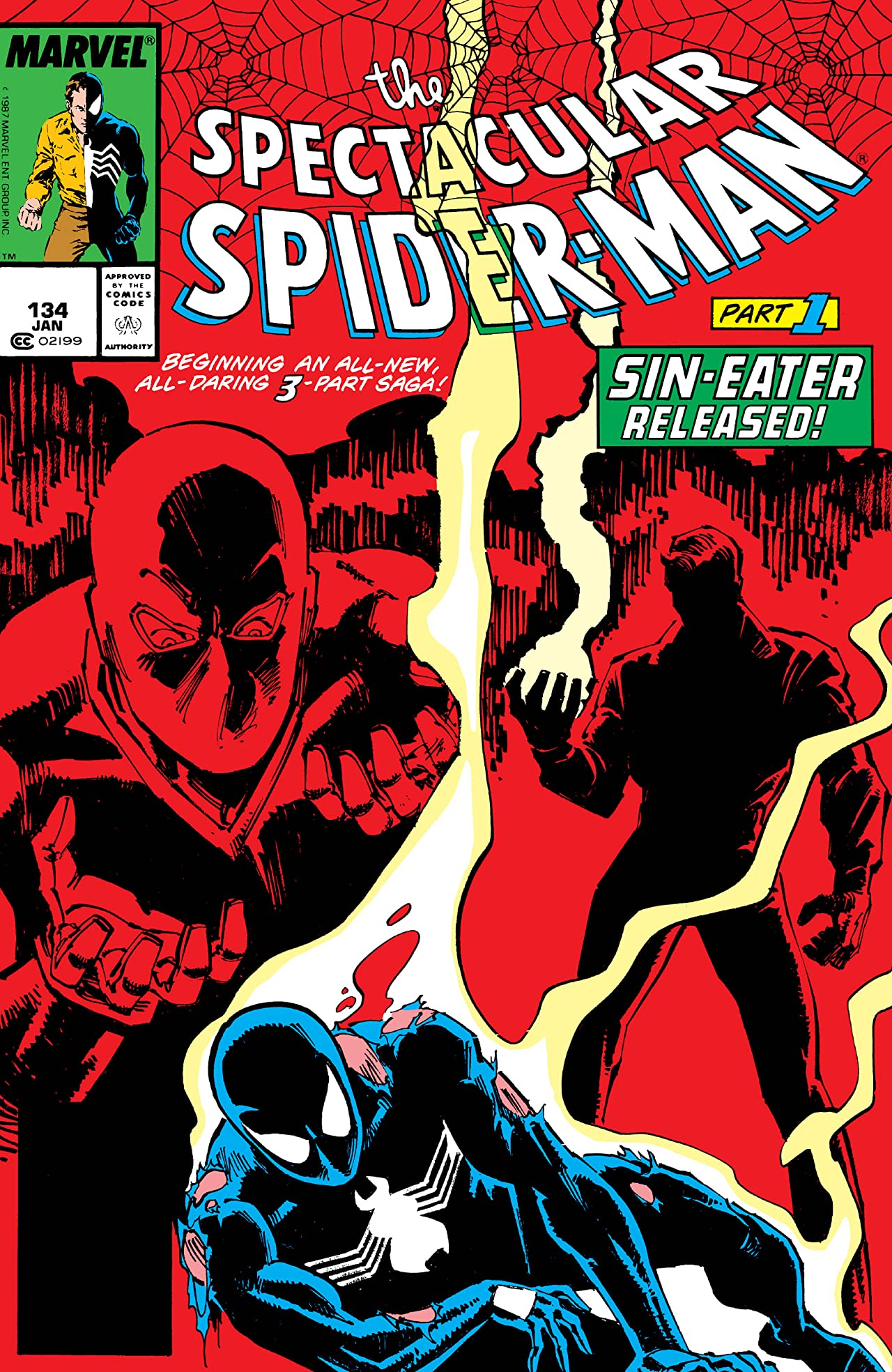 Peter Parker, The Spectacular Spider-Man (1976-1998) #134