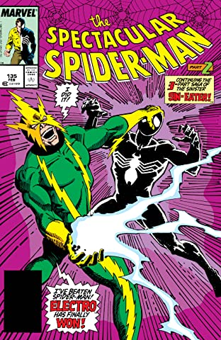 Peter Parker, The Spectacular Spider-Man (1976-1998) #135