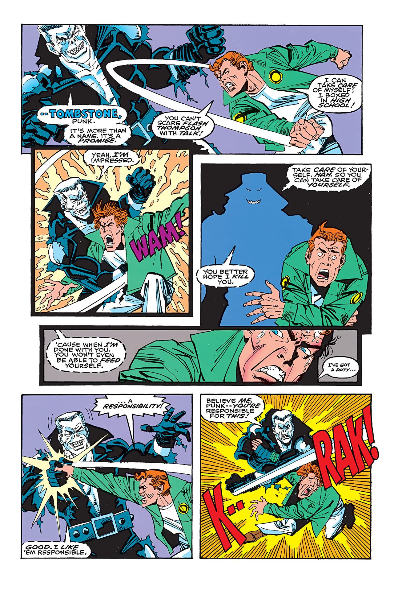Peter Parker, The Spectacular Spider-Man (1976-1998) #205
