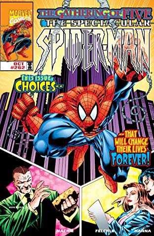 Peter Parker, The Spectacular Spider-Man (1976-1998) #262