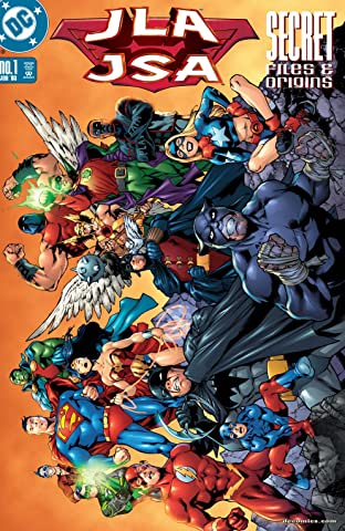 JLA/JSA Secret Files (2002) No.1