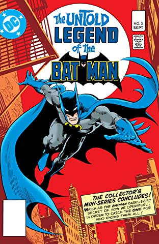 The Untold Legend of the Batman (1980) #3