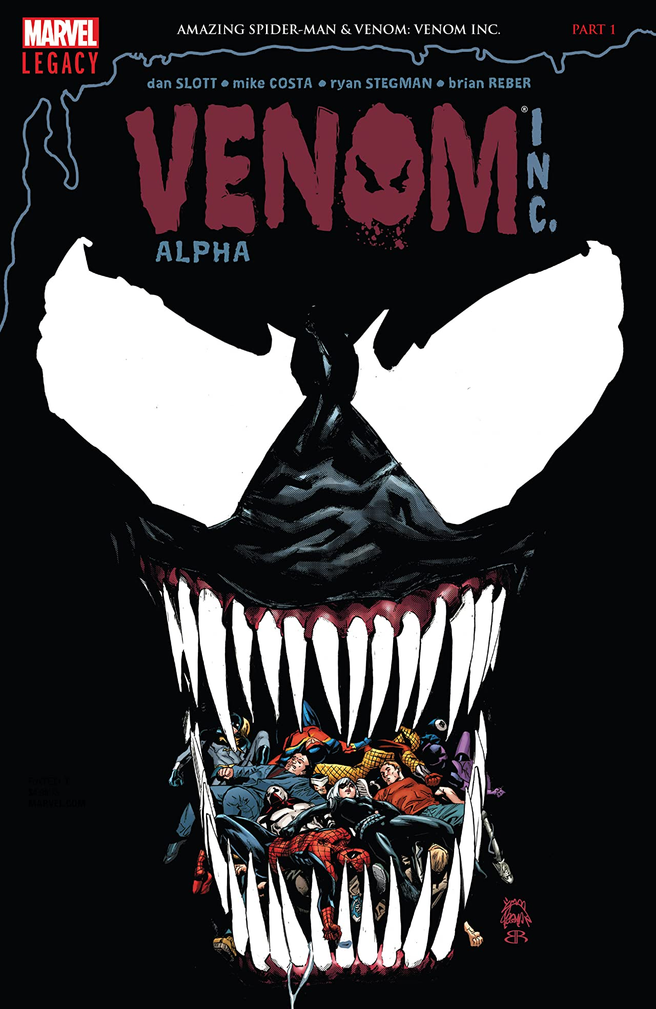 Amazing Spider-Man: Venom Inc. Alpha (2017) #1