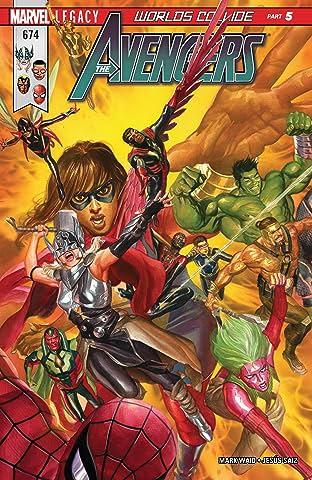 Avengers (2016-2018) #674