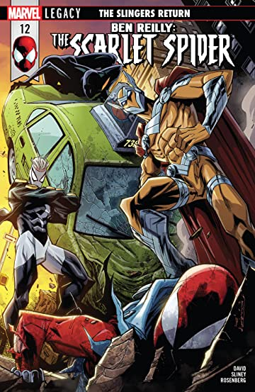 Ben Reilly: Scarlet Spider (2017-) No.12