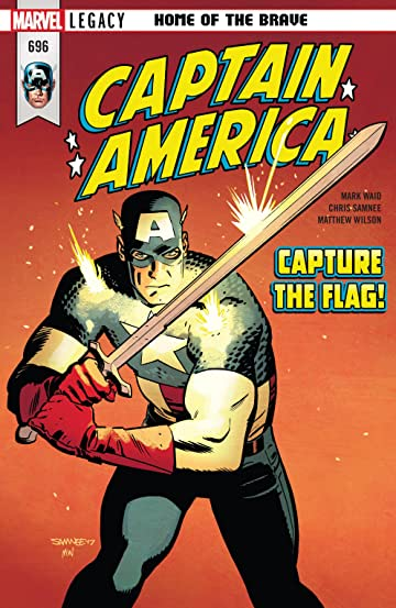 Captain America (2017-) No.696
