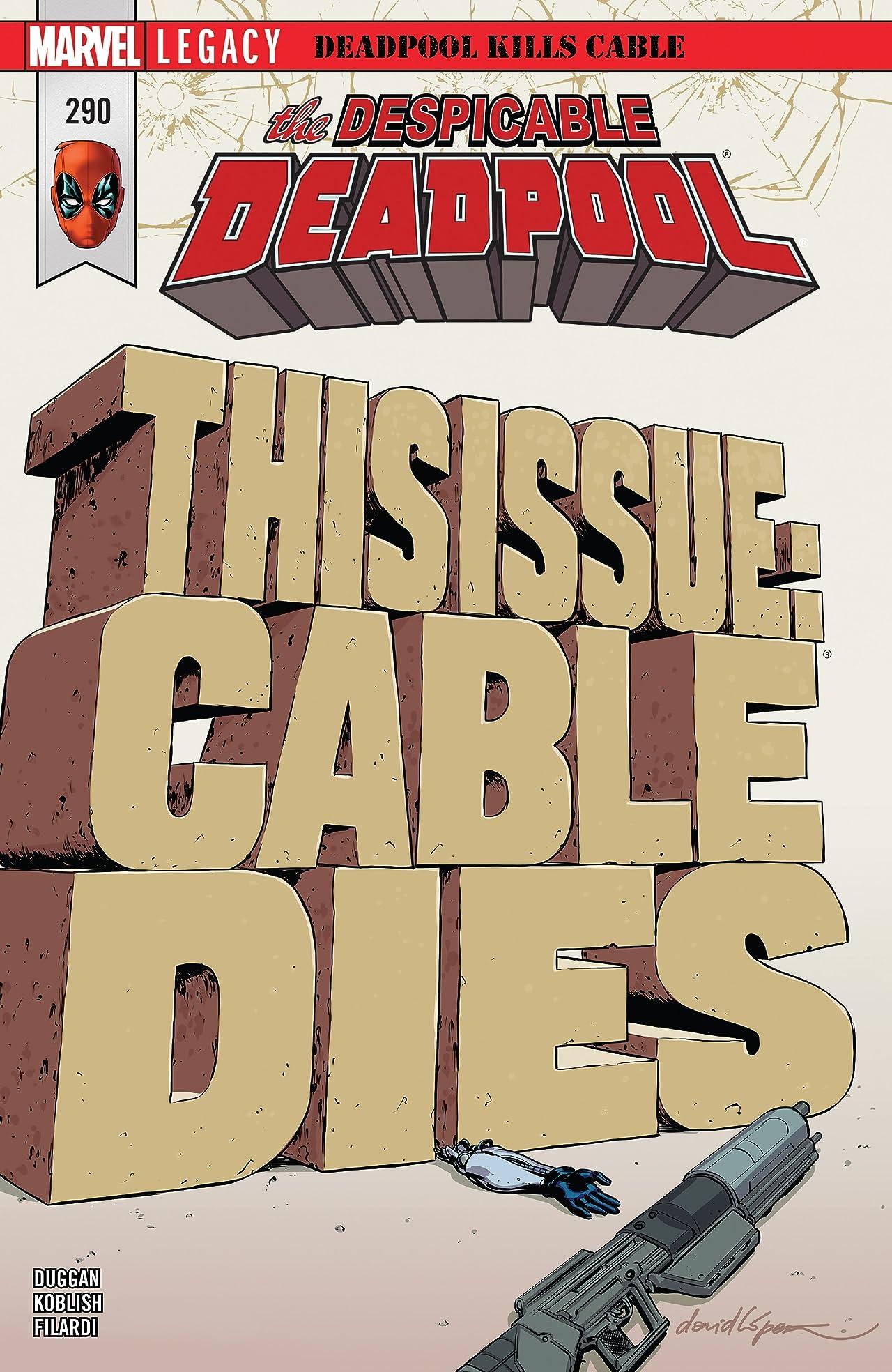 Despicable Deadpool (2017-) #290