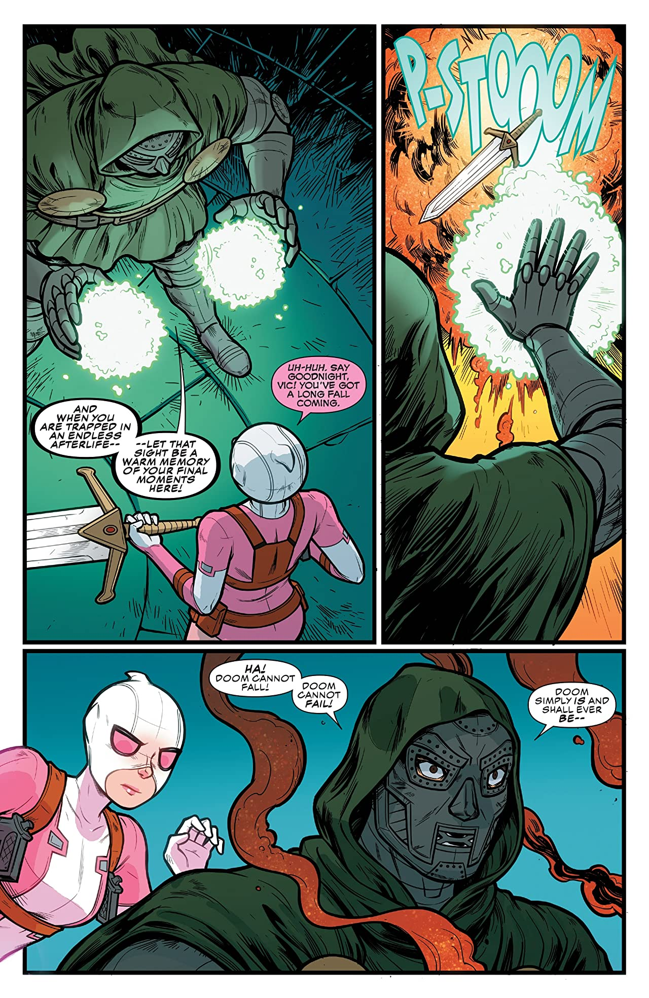 Gwenpool, The Unbelievable (2016-2018) #23