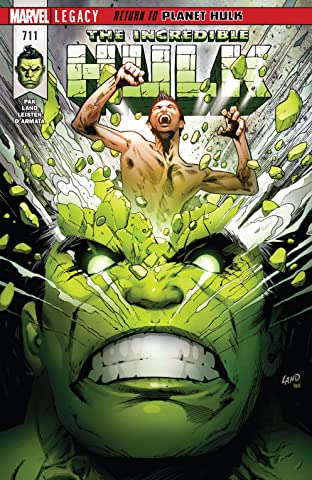 Incredible Hulk (2017-2018) #711