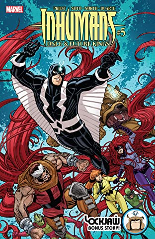 Inhumans: Once And Future Kings (2017) No.5 (sur 5)