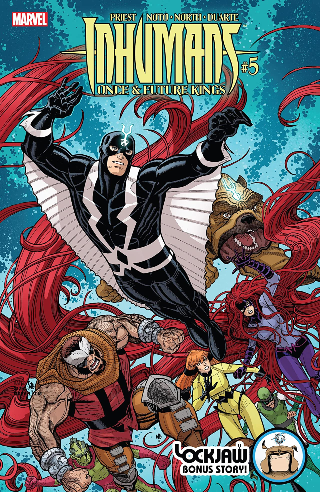 Inhumans: Once And Future Kings (2017) #5 (of 5)