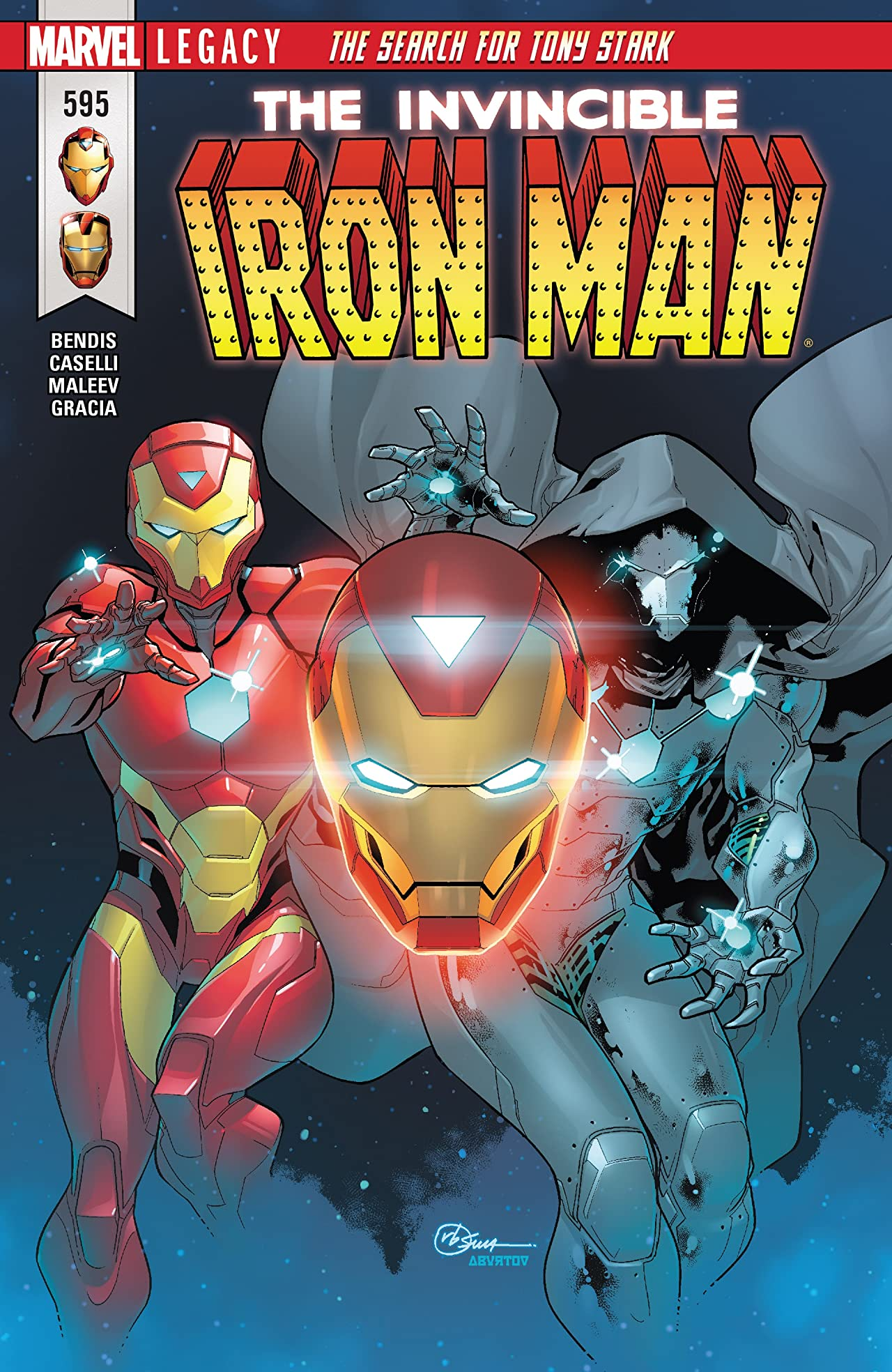 Invincible Iron Man (2016-) #595