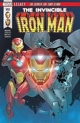 Invincible Iron Man (2016-2018) #595