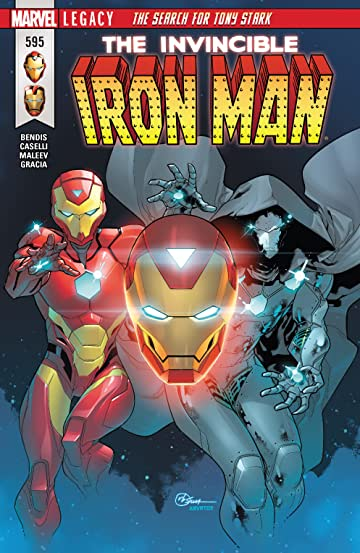 Invincible Iron Man (2016-) No.595