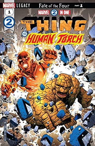 Marvel Two-In-One (2017-) #1