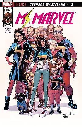 Ms. Marvel (2015-2019) #25