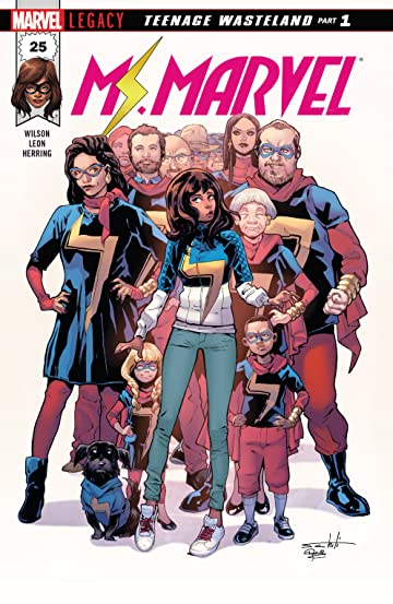 Ms. Marvel (2015-) No.25