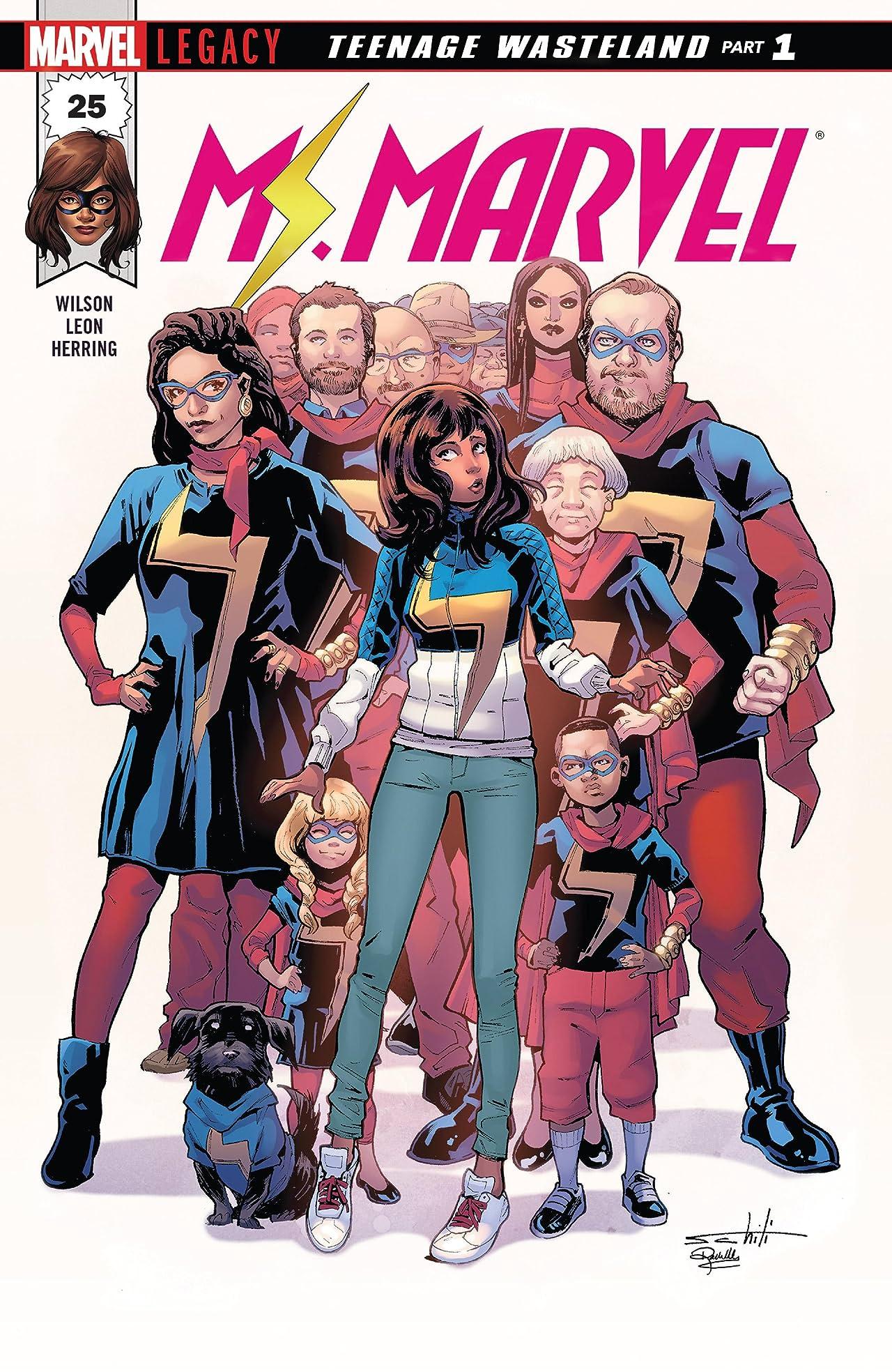 Ms. Marvel (2015-) #25