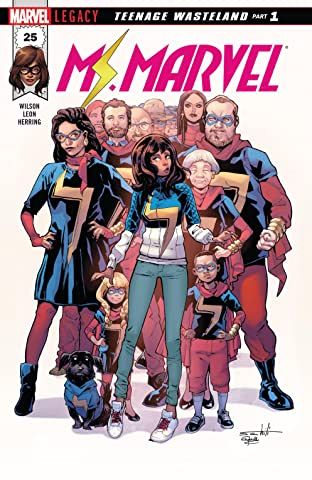 Ms. Marvel (2015-) #25