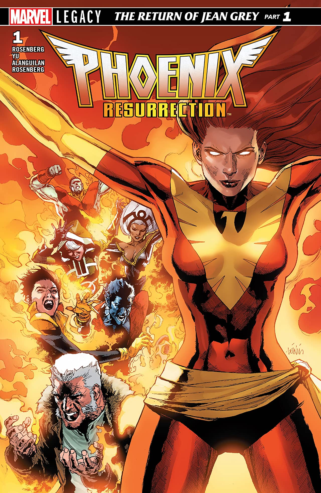 Phoenix Resurrection: The Return Of Jean Grey (2017-2018) #1 (of 5)