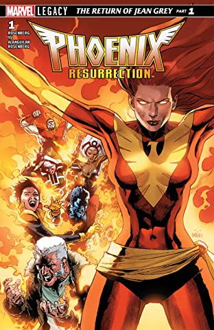 Phoenix Resurrection: The Return Of Jean Grey (2017-2018) #1 (of 5)