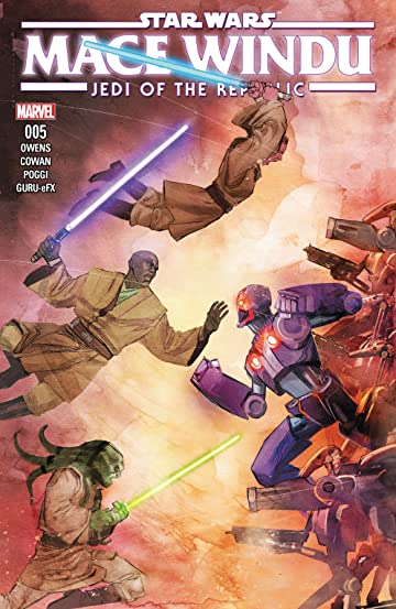Star Wars: Jedi of the Republic - Mace Windu (2017) No.5 (sur 5)