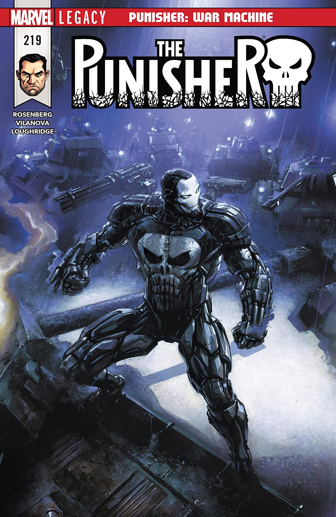 the punisher 2016 2018 219 marvel comics