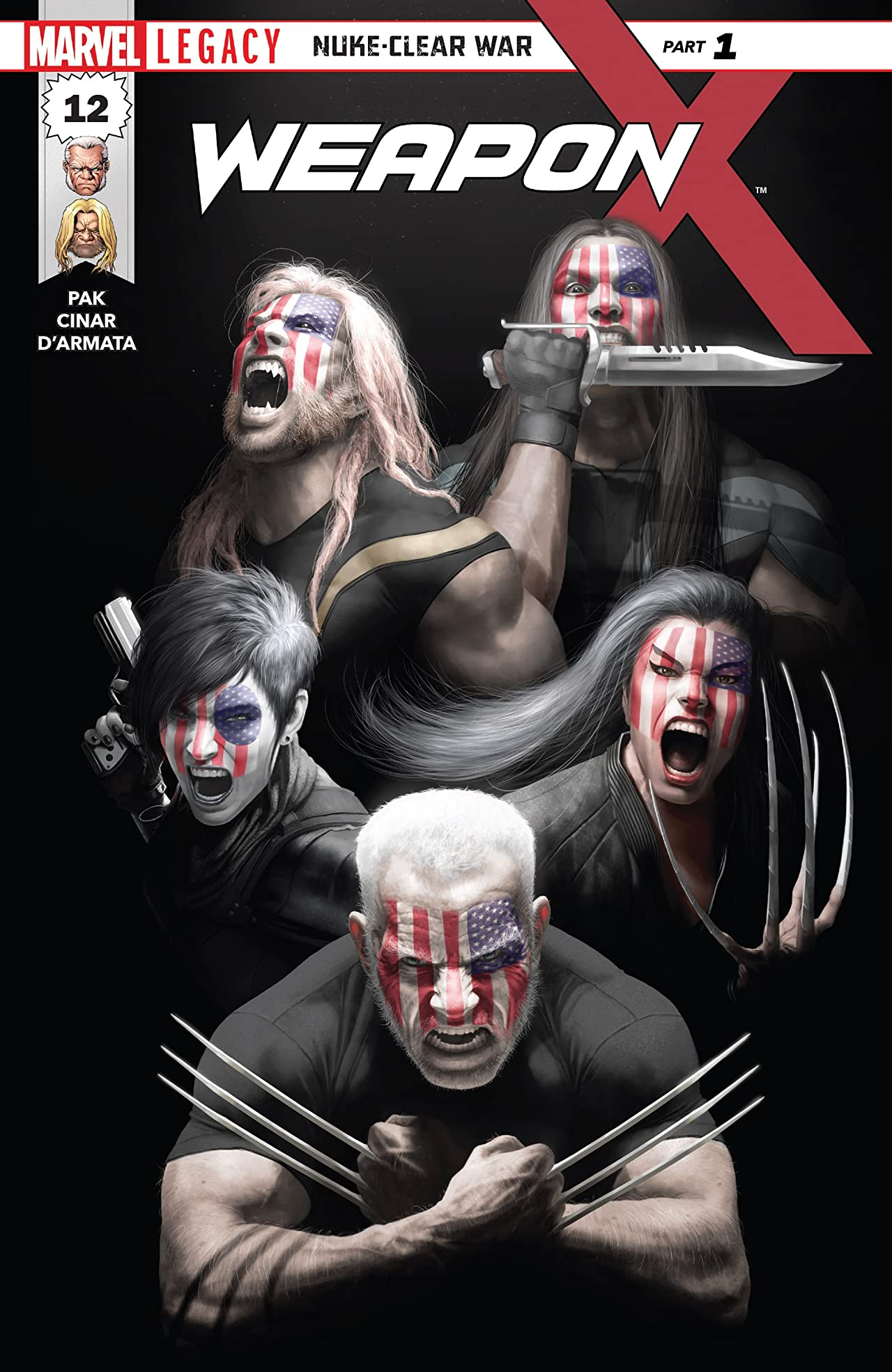 Weapon X (2017-) #12