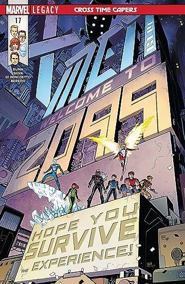 X-Men Blue (2017-) #17