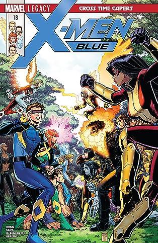 X-Men Blue (2017-) #18