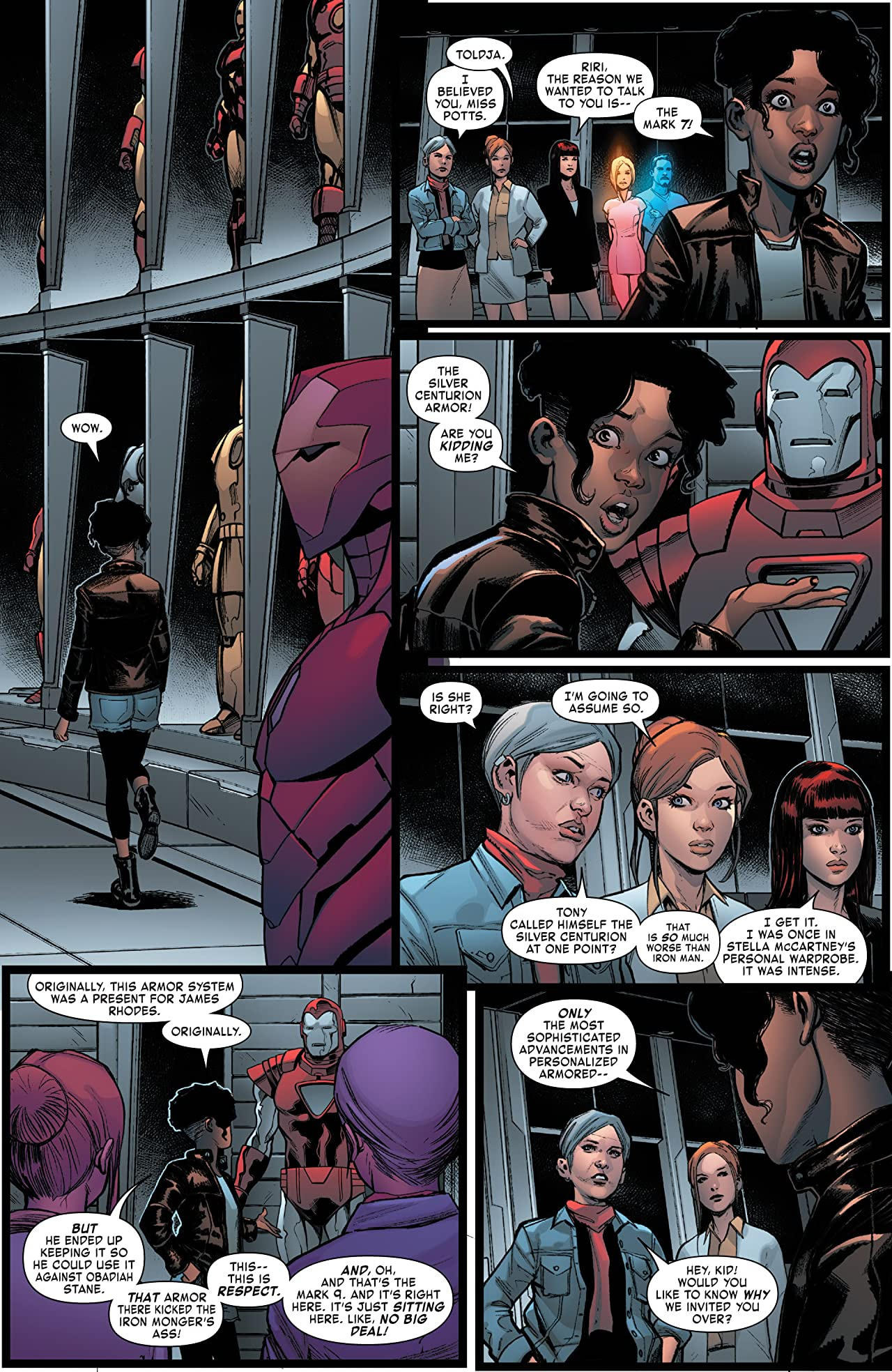 Invincible Iron Man: Ironheart Vol. 2: Choices