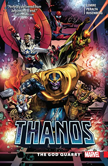 Thanos Tome 2: The God Quarry