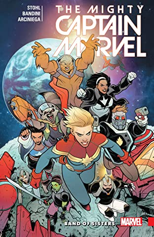 The Mighty Captain Marvel Tome 2: Band of Sisters
