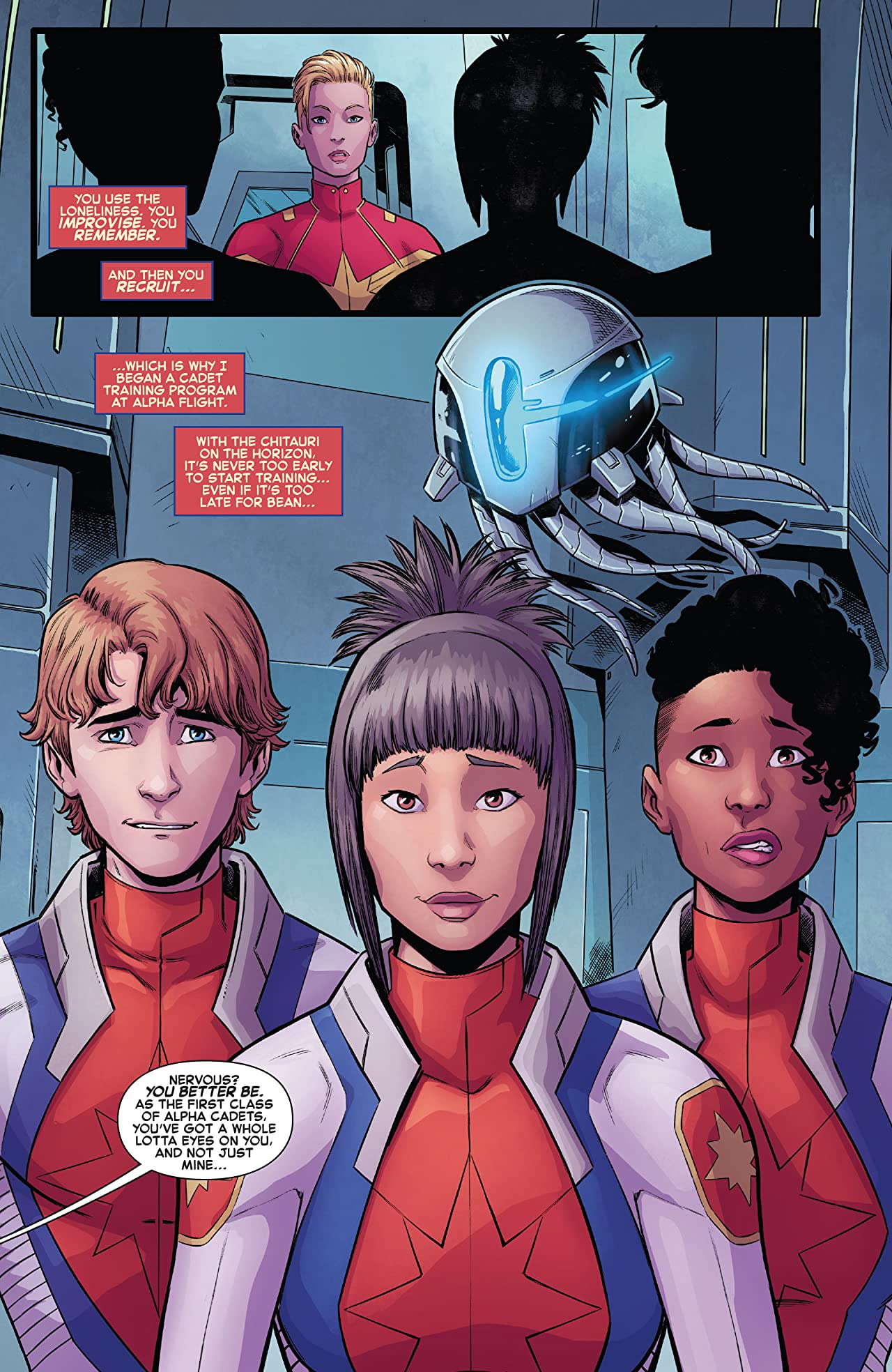 The Mighty Captain Marvel Vol. 2: Band of Sisters